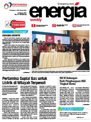 Energia Weekly Edisi 41