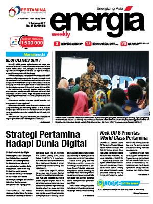 Energia Weekly Edisi 37