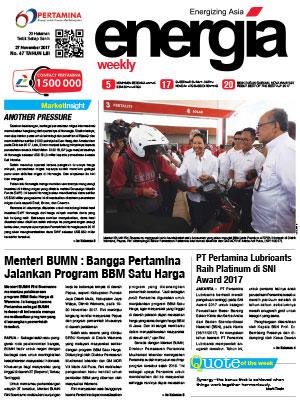 Energia Weekly Edisi 47