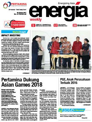 Energia Weekly Edisi 43