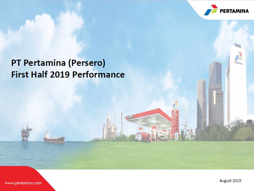 Pertamina Performance H1 2019 Unaudited