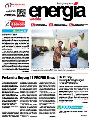 Energia Weekly Edisi 51