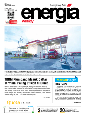 Energia Weekly 2nd week April 2018