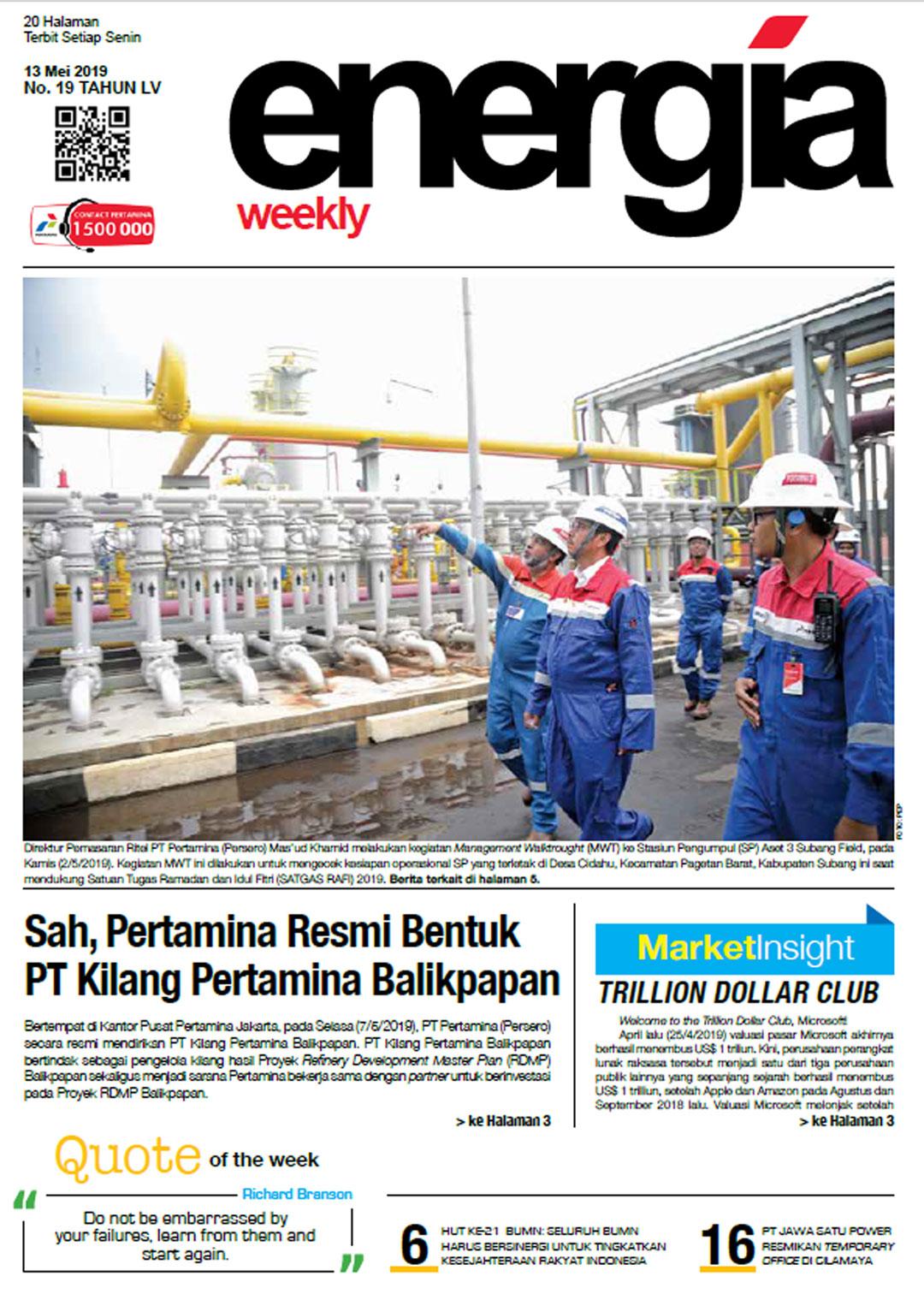 Energia Weekly 2nd Week of May 2019