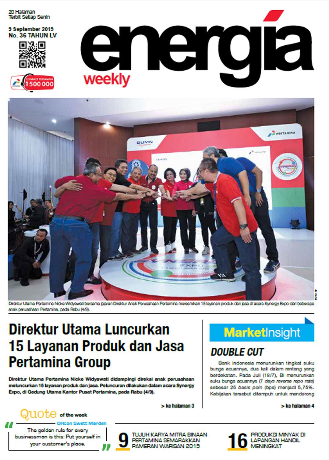 Energia Weekly 2nd Week of September 2019