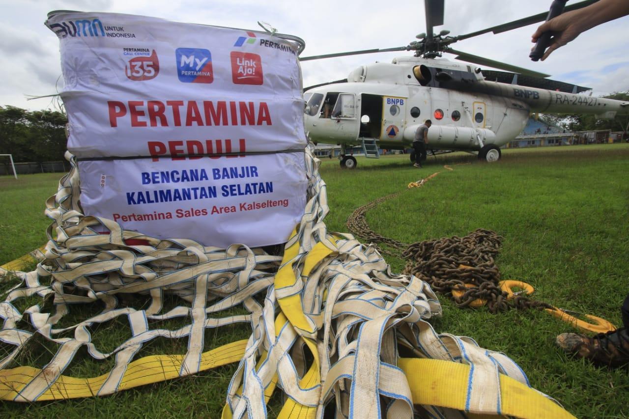 Pertamina Sigap Distribusi BBM dan LPG Bersama Pemerintah Kalsel ke Desa  Terisolir akibat Banjir | Pertamina