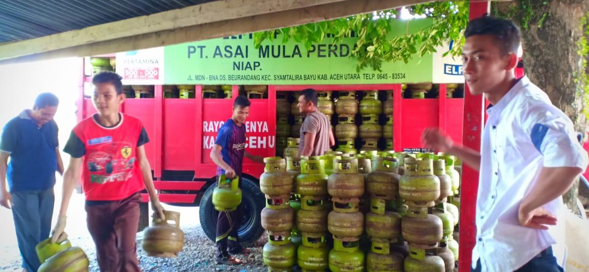 Move On Agen Dan Pangkalan Elpiji Di Aceh Gunakan Cashless Payment Pertamina