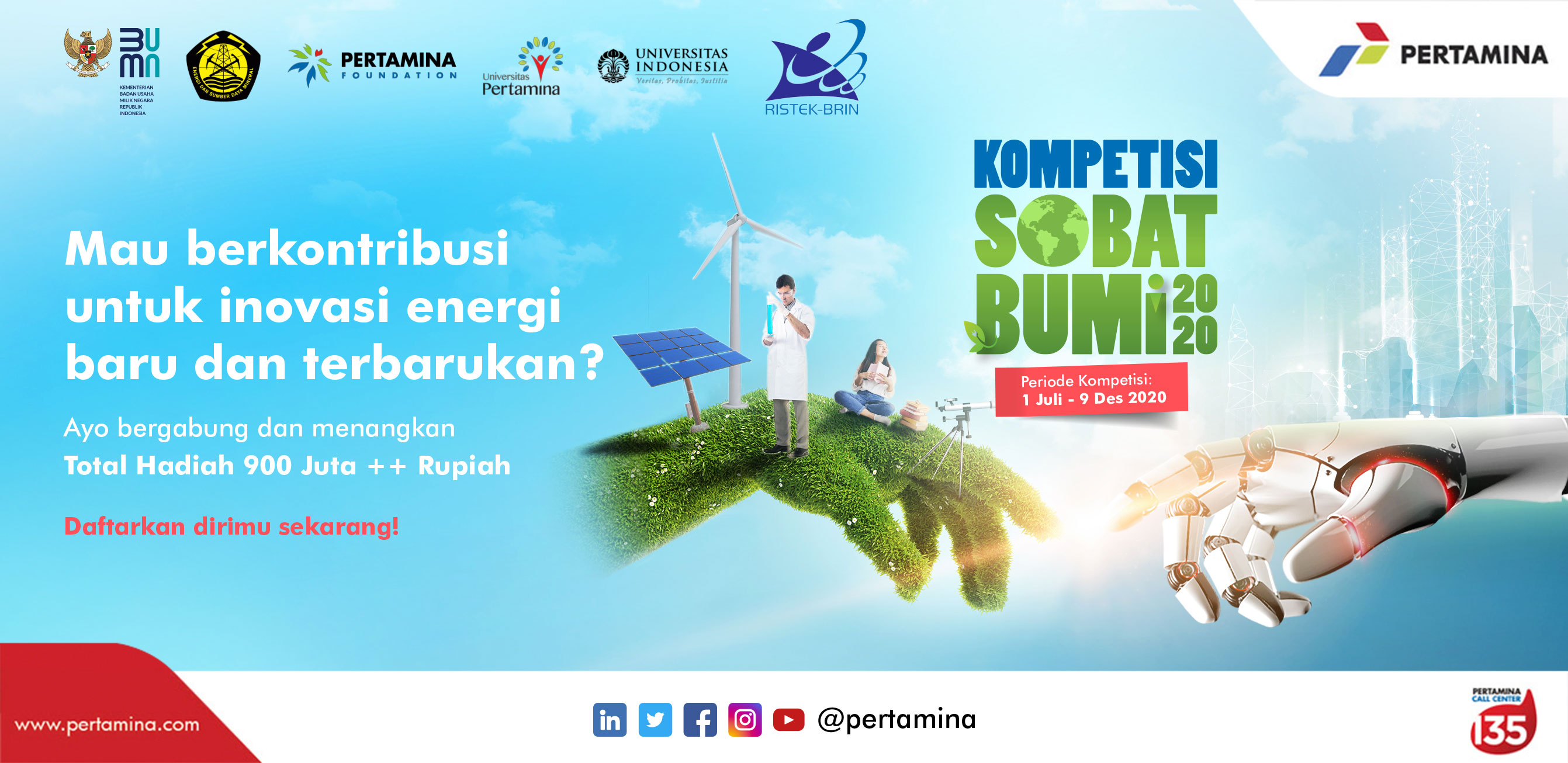 Kompetisi Sobat Bumi | Banner Highlight Program