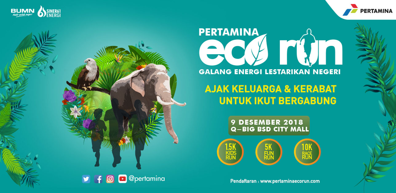 Pertamina Eco Run 2018